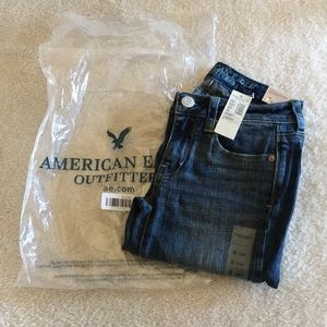 American Eagle Skinny Kick Jeans Size 0